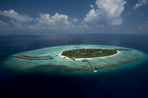 【玩趣旅游】马尔代夫最特别的双岛度假村:康莱德