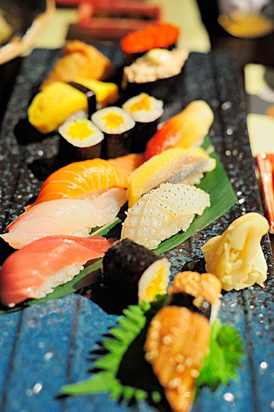 寿司比吃麦当劳更容易长肉肉