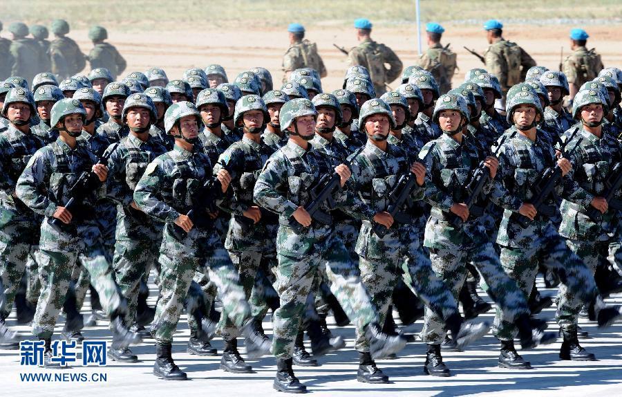 """""""和平使命―2014""""联合反恐军事演习正式开始"""