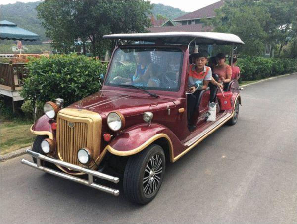 欧式古典小汽车