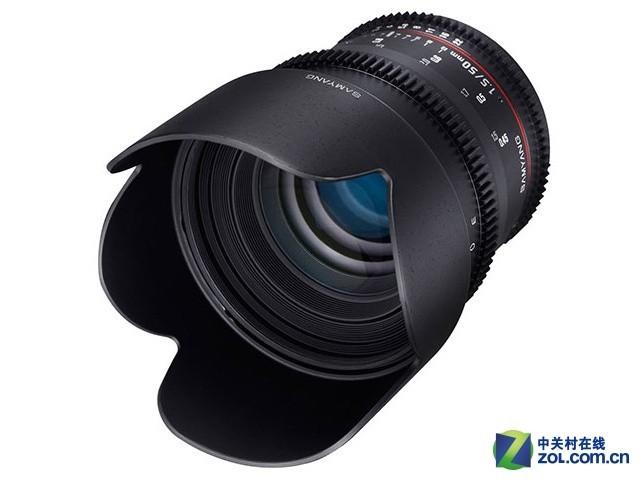 三洋发布50mm T1.5 AS UMC V-DLSR镜头