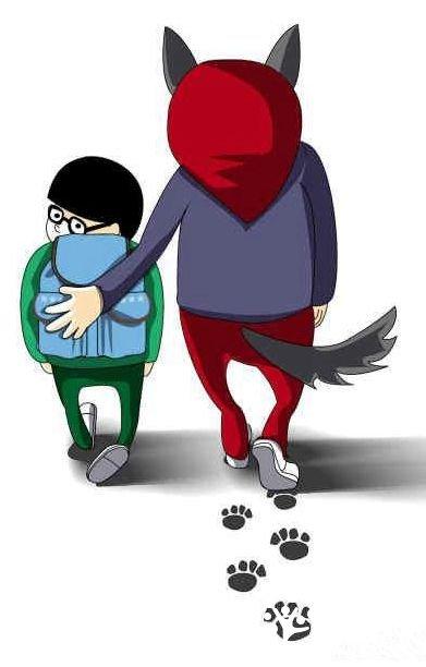 """应付陌生人权利第一步:赋予孩子说""""不!""""的技巧吸引力技巧圈小朋友图片"""