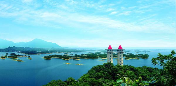 江西景点介绍-柘林湖