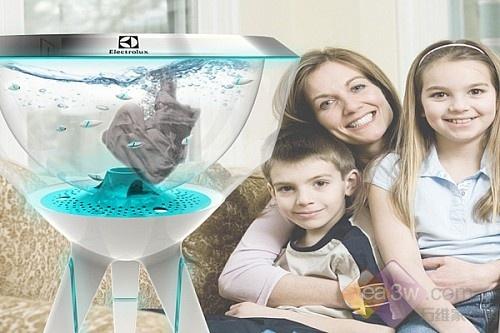 概念设计!机械小鱼洗衣机颠覆传统洗衣
