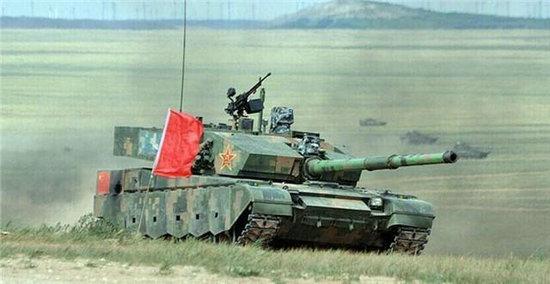 中国最强坦克终露真容 正脸厚1米火力凶猛(图)