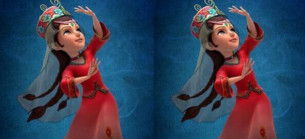 《天香公主》动画人物