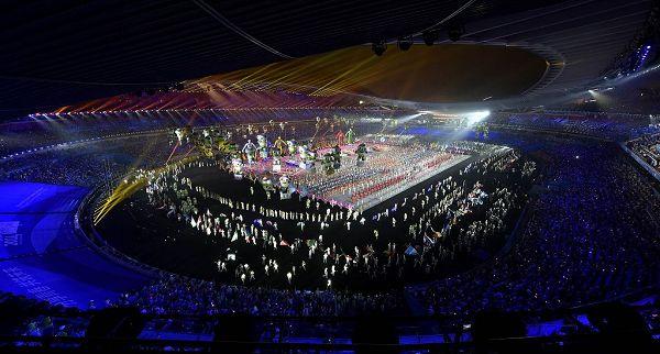 图文:南京青奥会闭幕式盛况 闭幕式盛况
