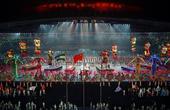 图文:南京青奥会闭幕式盛况 闭幕式现场绚丽