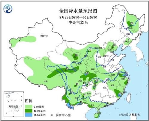 西北黄淮等地将有强降水过程 四川江苏局地大暴雨