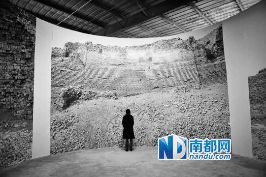 2013深圳城市/建筑双年展参展作品《墙馆》。