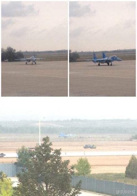 网友拍摄到的战机照片