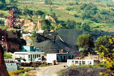 山西省吕梁市中阳县一座煤矿。 新华社记者王广壮摄