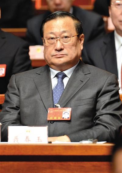 山西省委原常委、秘书长聂春玉。