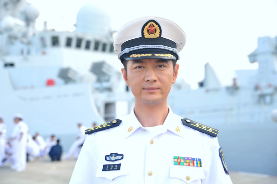 《舰在亚丁湾》央视将播 王同辉海军造型惹关注
