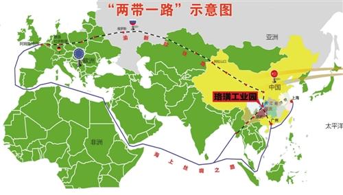 """是""""渝新欧""""铁路在重庆重要的铁路物流节点,是长江经济带上的""""水公铁"""""""