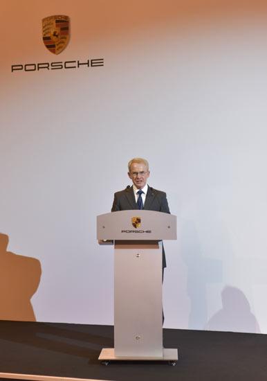 Porsche中国总裁及首席执行官潘德旭致辞