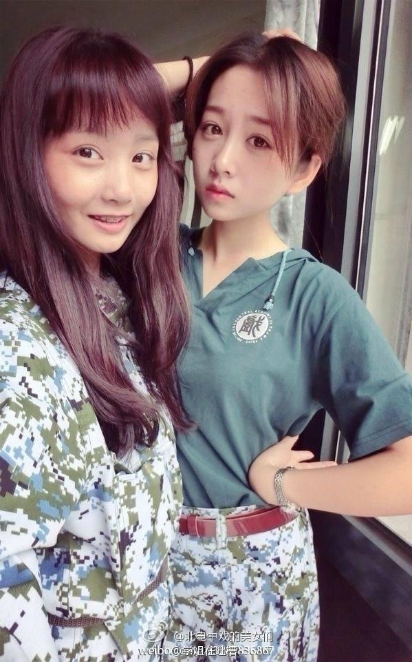 军训季:中戏美女PK北大学霸高清组图 搜狐滚