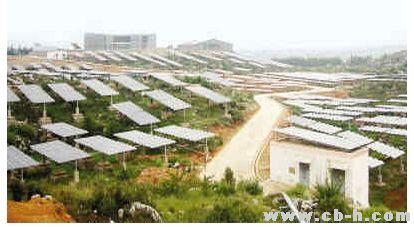 地凯防雷:阿诗玛的故乡石林光伏发电站防雷概要