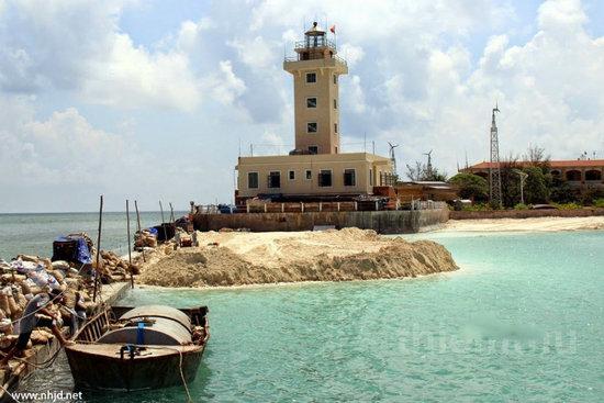 越南加紧在中国岛礁填海造陆 已经形成小岛-搜