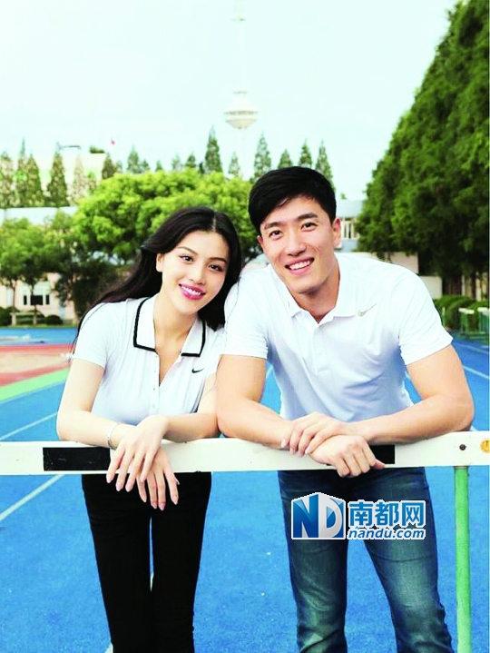 刘翔老婆葛天照片_刘翔领证细节曝光 新娘葛天秒变大红人-搜狐娱乐