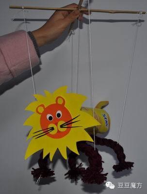 玩具制作:小狮子