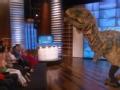《艾伦秀第12季片花》S12E05 现场巨型恐龙乱入 惹观众惊叫