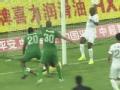中超进球-阿甘补射破门 杭州绿城1-0领先泰达