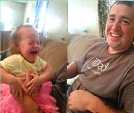刮掉胡子后,女儿认不出父亲,甚至被吓哭。