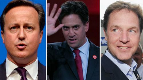 英国三大政党领导人力争苏格兰留在联合王国。