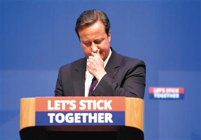 """""""我有义务明确告诉大家,一旦你们选择'是',将带来怎样的后果。独立不意味着短暂的分手,而将是痛苦的离婚。请不要分裂英国这个民族家庭。"""""""