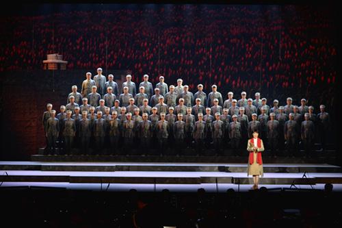 《西柏坡组歌――人间正道是沧桑》 资料图