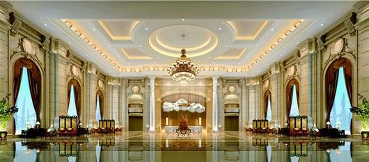 湖北日报讯 图为:武汉恒大酒店大堂实景图图片