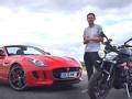 [汽车运动]Triumph摩托挑战捷豹V6 S跑车