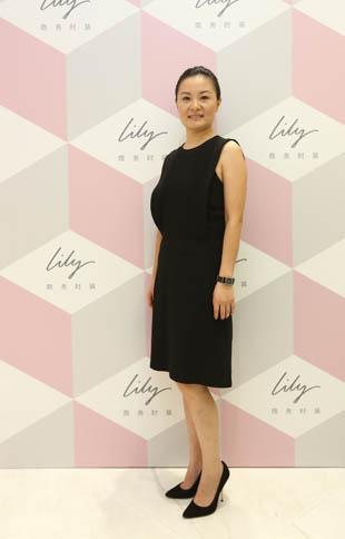 lily品牌副总经理兼全国营销总监孙铭阳