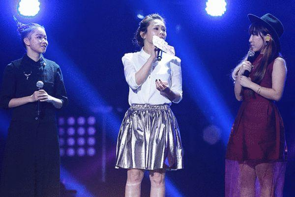 蔡健雅上台唱《原点》