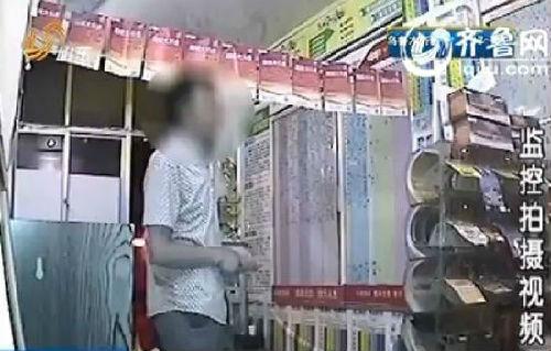 威海一男子盗窃彩票梦想一夜暴富 兑奖时被抓