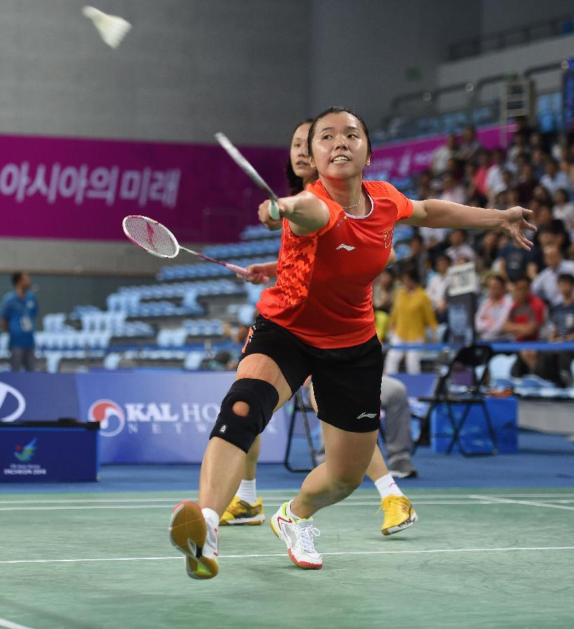 (亚运会)(6)羽毛球--中国女团夺冠(图)-搜狐滚动