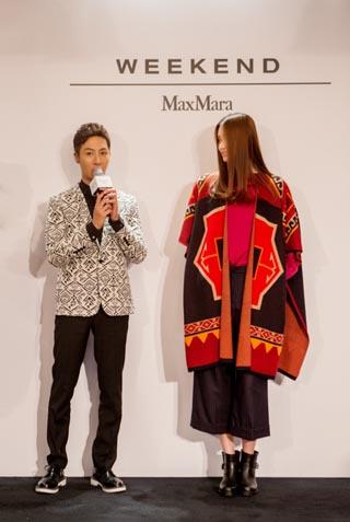 "小P老师现场讲解Weekend MaxMara 2014秋冬""East Meets West""系列"
