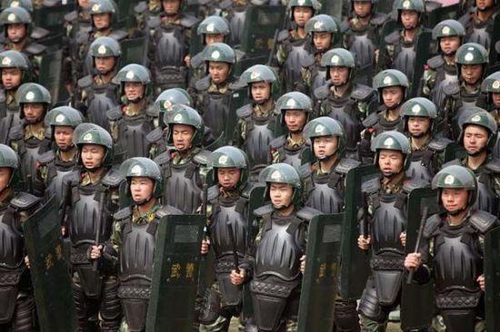重庆 湖南三地武警总队司令员换防图片