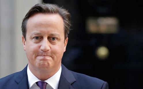 资料图:英国首相卡梅伦