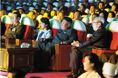 9月3日,金正恩与妻子李雪主一同观看牡丹峰乐团新作音乐会,此后金正恩再未公开露面。