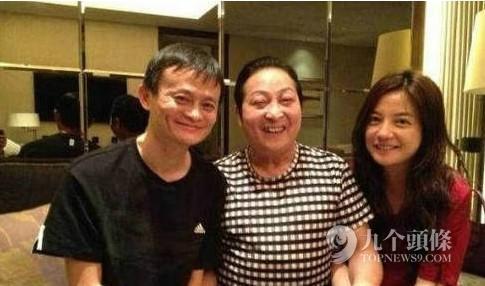中国新首富马云都有哪些权贵朋友?