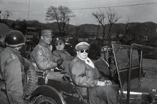 朝鲜战场上的李奇微