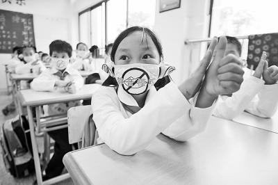 学手语 关注聋哑人 组图
