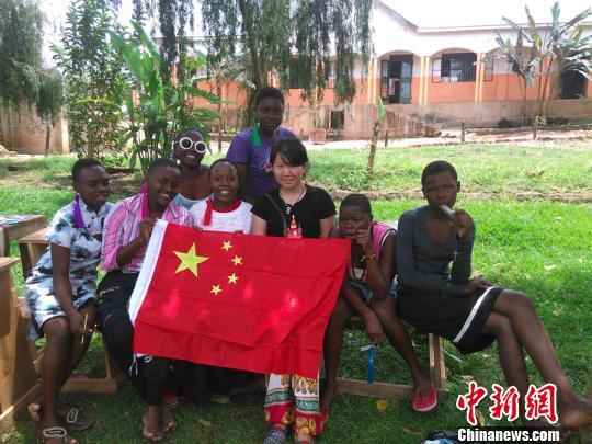 乌干达校方发给郭思佳的购买土地凭证郭思佳提供