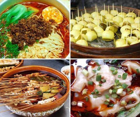 中国有什么特色小吃_各地的特色小吃-