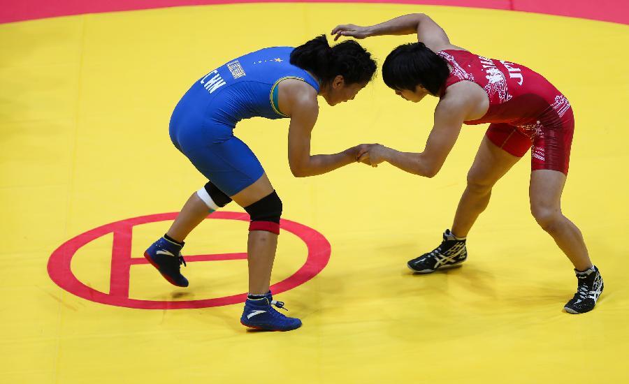 亚运会摔跤