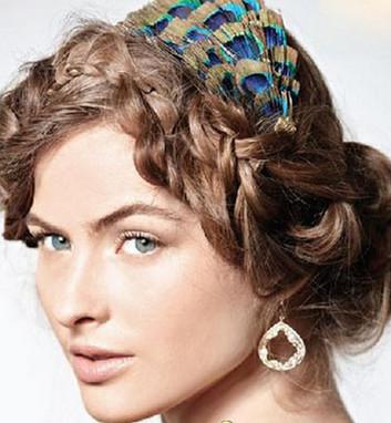 欧式典雅婚礼新娘发型