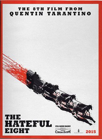 《八恶人》开拍从原计划的2015年1月,提前到了今年12月8日