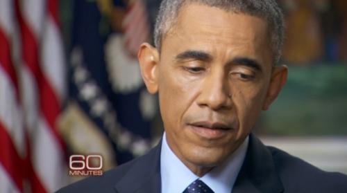 美国总统奥巴马28日接受CBS专访。